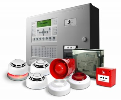 An image showing some fire detection systems we offer