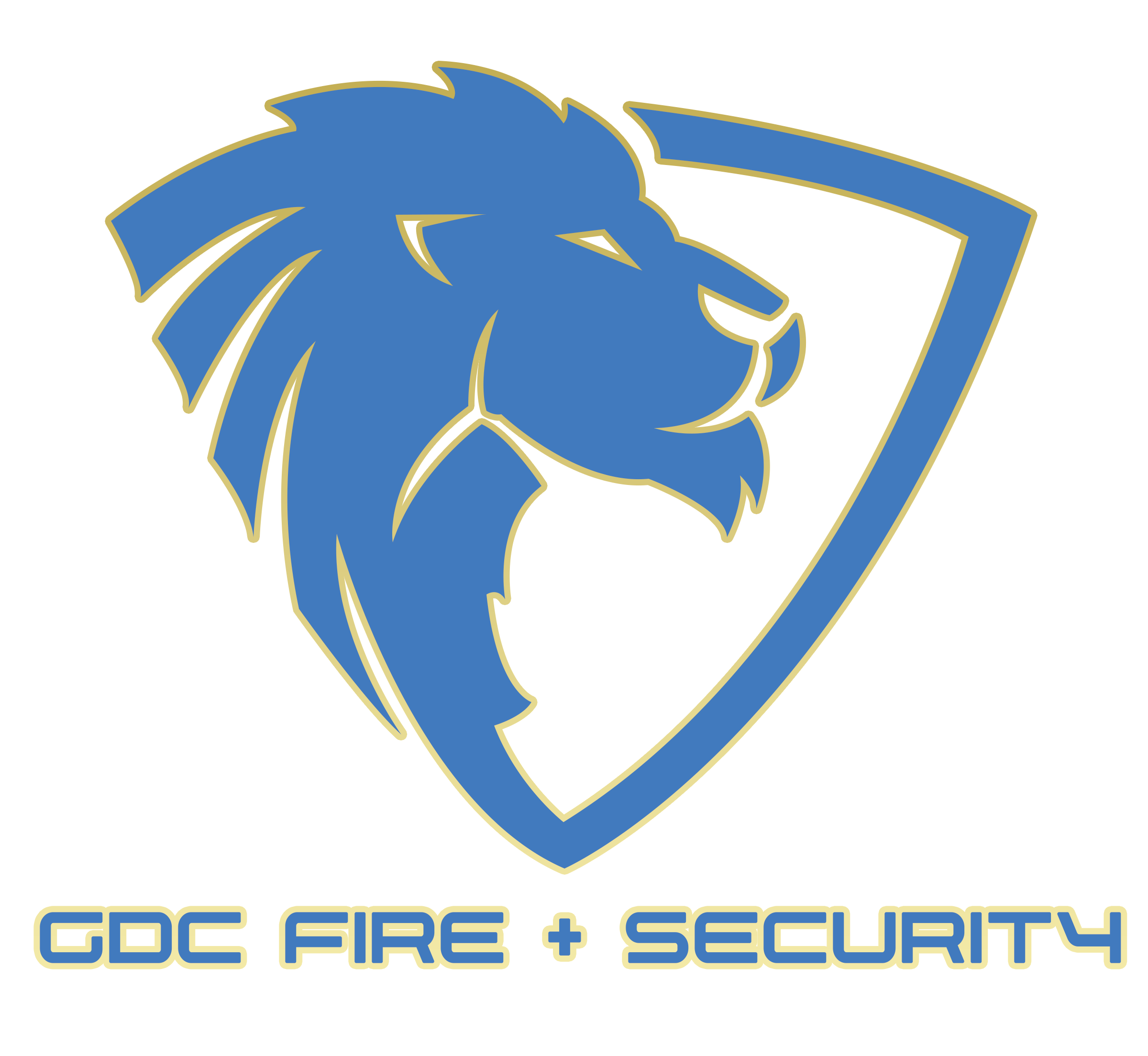 An image showing the GDC Fire and Security Logo