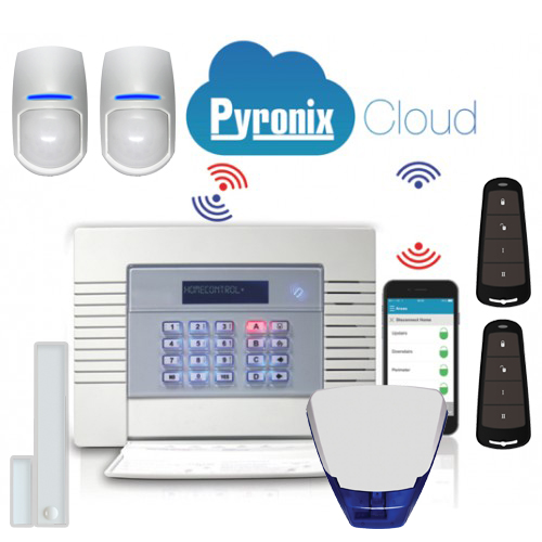 An image showing some Pyronix Intruder Alarm Systems we offer